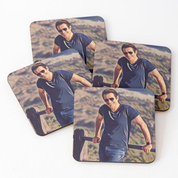 Garcia Flynn fanart Coasters (Set of 4)