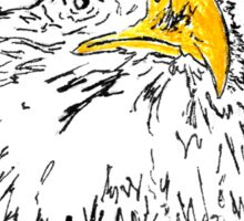 """Bald"" Eagle Sticker"