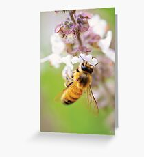 All happiness depends on a leisurely breakfast. Greeting Card