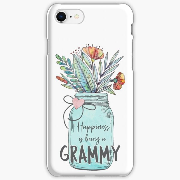 Happiness is being a Grammy - Mothers Day Gift iPhone Snap Case