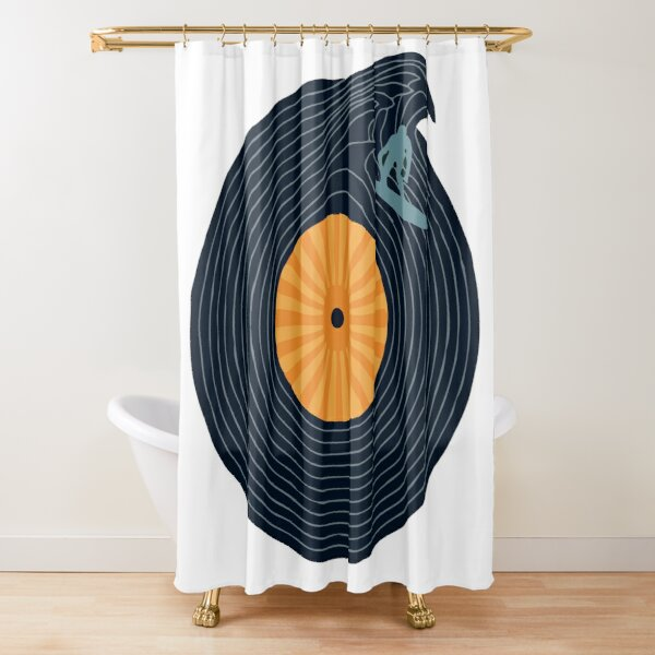 Ride the Music  Shower Curtain