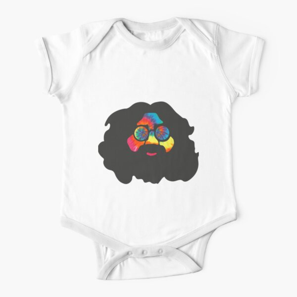 Tie Dye Jerry Short Sleeve Baby One-Piece