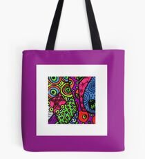 Abstract Fluoro 4  Tote Bag