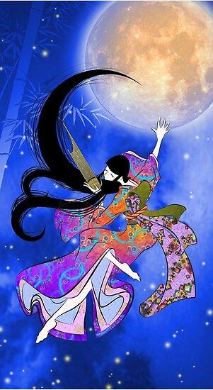 Japanese Woman - Flying Music by Saing Louis