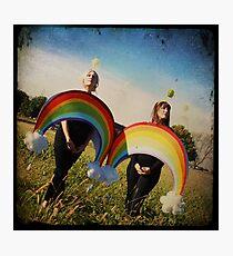 Double Rainbow. Double Rainbow. Photographic Print