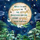 Dream me the world by Stella Bookish Art