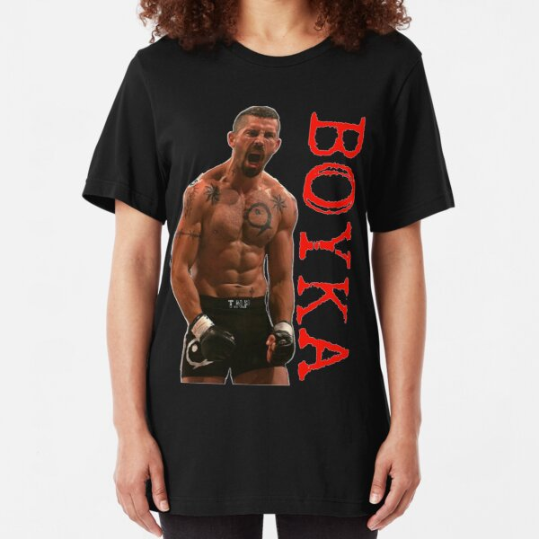 Camiseta de artes marciales indiscutible de Yuri Boyka MMA Camiseta ajustada