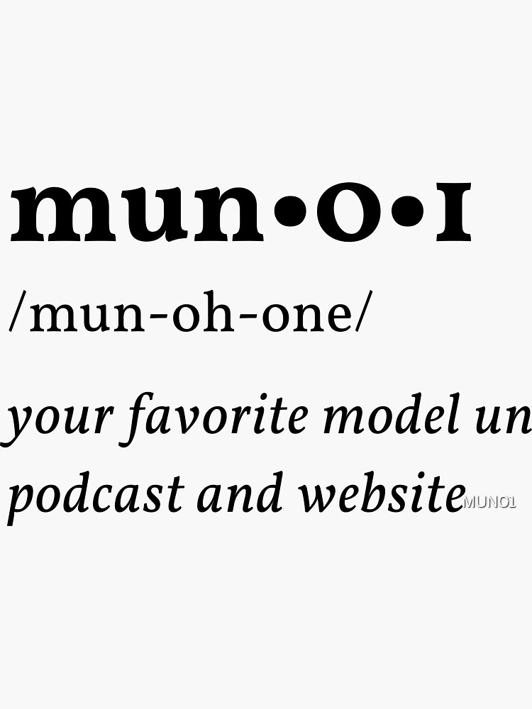 MUN01 Definition by MUN01