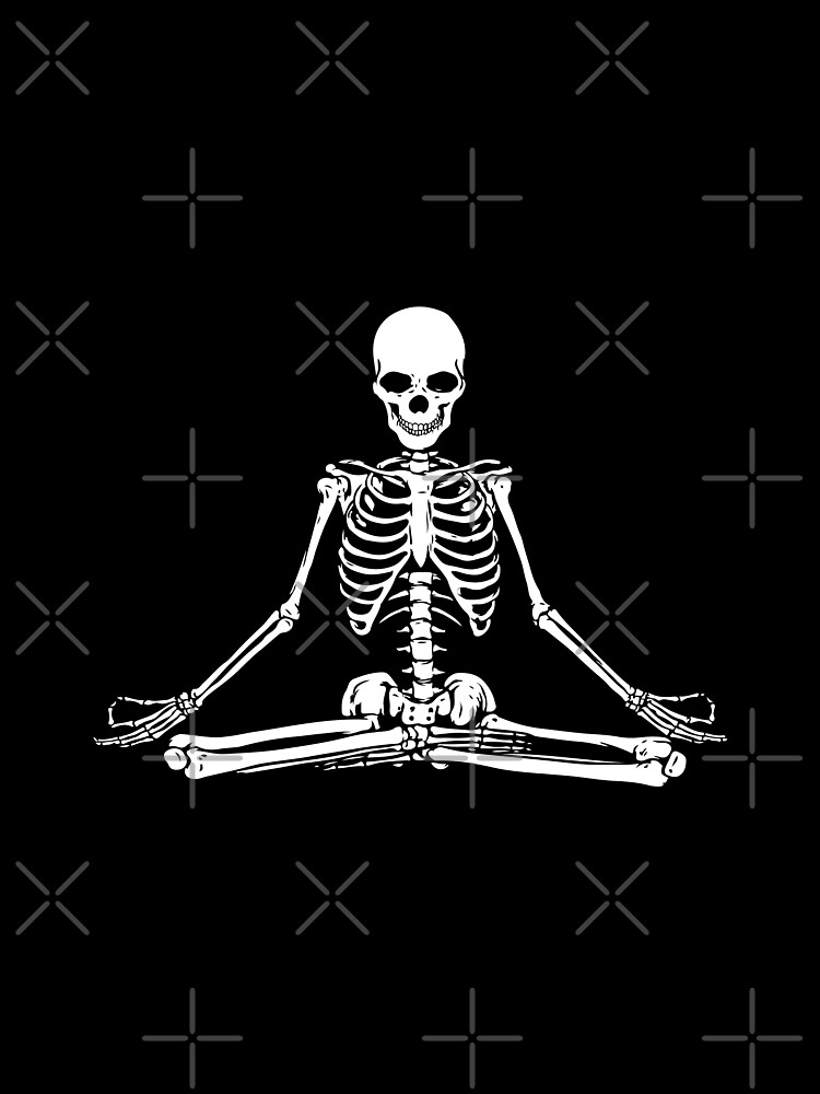 Esqueleto Meditando de shaylikipnis