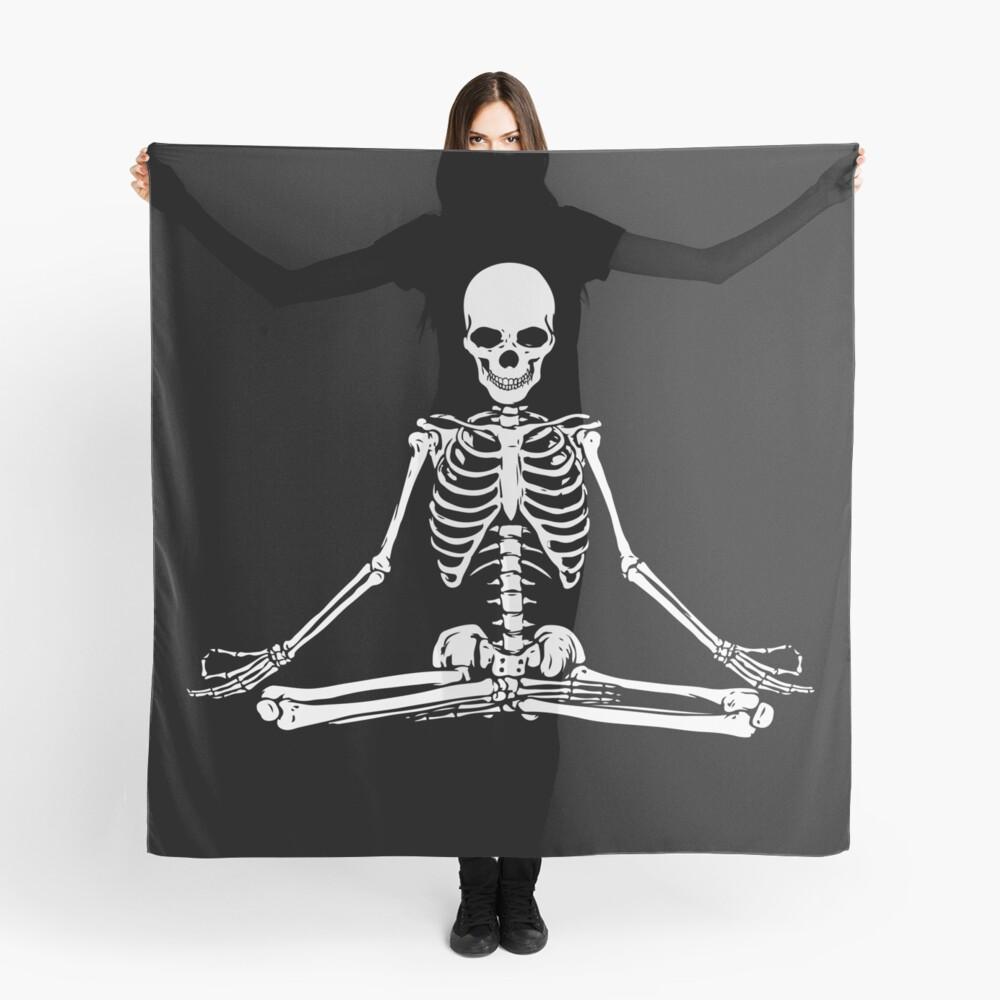 Esqueleto Meditando Pañuelo