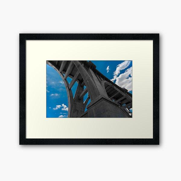 Colorado Street Bridge Framed Art Print