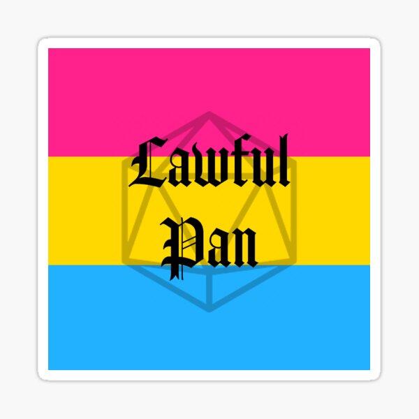 Lawful Pan Sticker