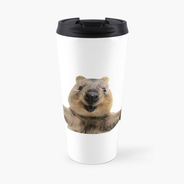 Happy quokka welcoming hug Travel Mug