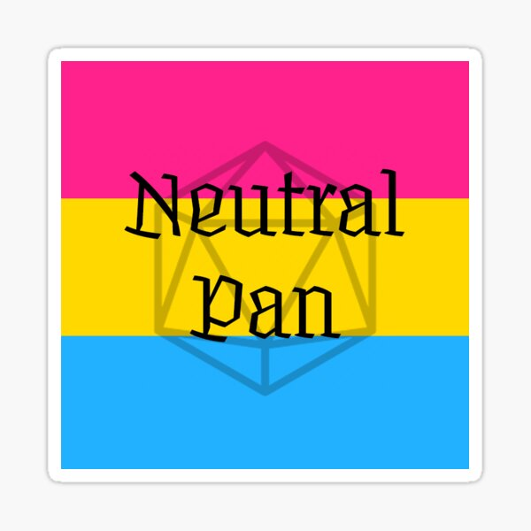 Neutral Pan Sticker