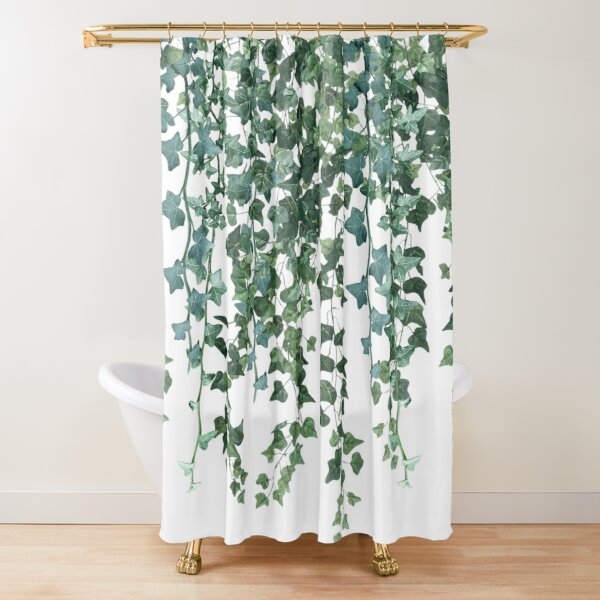 Ivy Hanging Vines  Shower Curtain