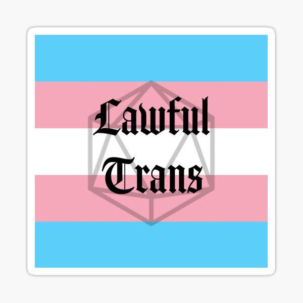 Lawful Trans Sticker