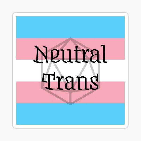 Neutral Trans Sticker