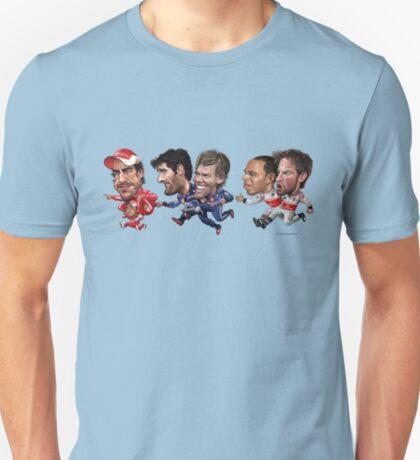 Formula 1 drivers 2010 - the championship battle! T-Shirt