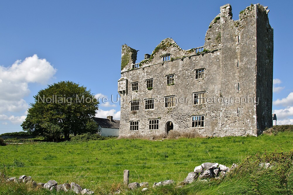 Irish Castle, County Clare, Ireland by Noel Moore Up The Banner Photography