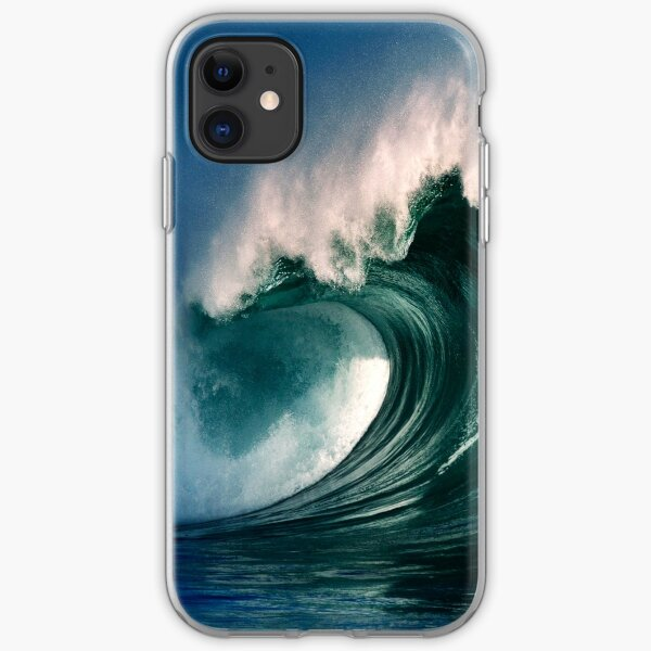 iPhone Case. Winter Waves At Waimea Bay 2 iPhone Soft Case