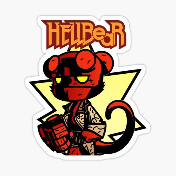 Hellbear Sticker