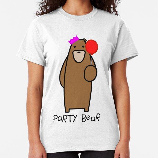 Party bear Classic T-Shirt