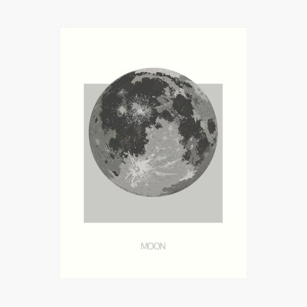 Positive Moon Art Print