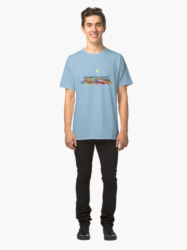 Vista alternativa de Camiseta clásica LAS VACACIONES 2