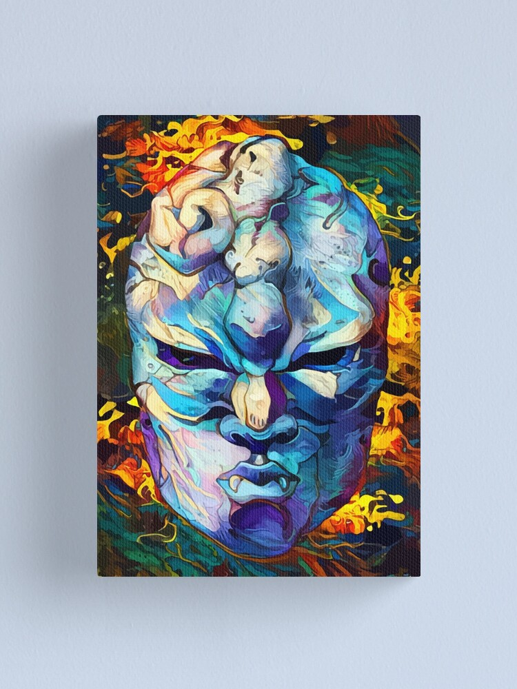 Alternate view of stone mask Canvas Print