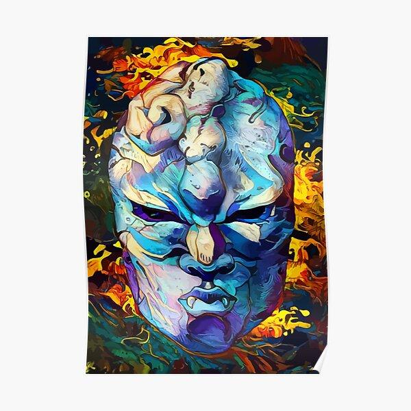 masque de pierre Poster