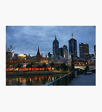Melbourne Twilight Photographic Print