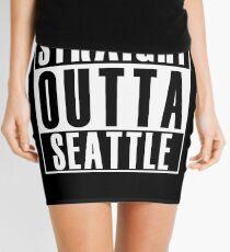 Straight Outta Seattle Mini Skirt