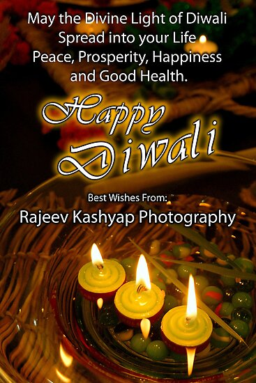 Happy Diwali Festival Of Lights Posters By Rajeevkashyap Redbubble
