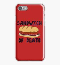 Sandwich of Death iPhone Case/Skin