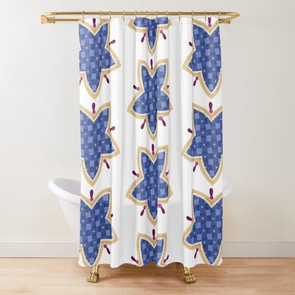 JUTURNA Star Shower Curtain