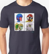 Mega Man X Gorillaz - Demon Days Unisex T-Shirt