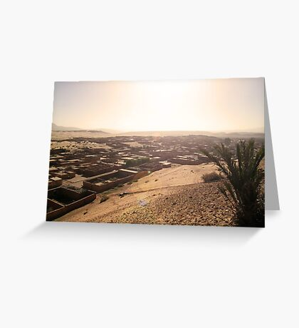 Beautiful Algeria - Rum-Spattered Village Greeting Card
