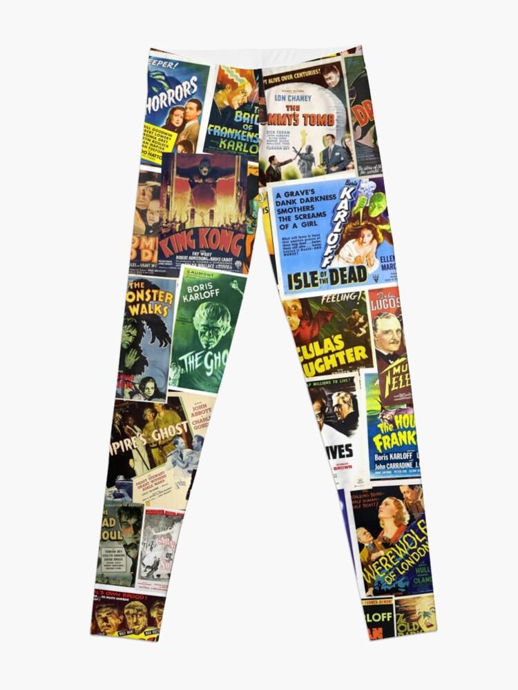 Alternate view of Vintage Horror Leggings
