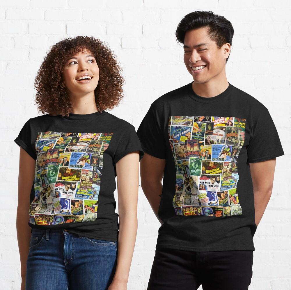 Vintage Horror Classic T-Shirt
