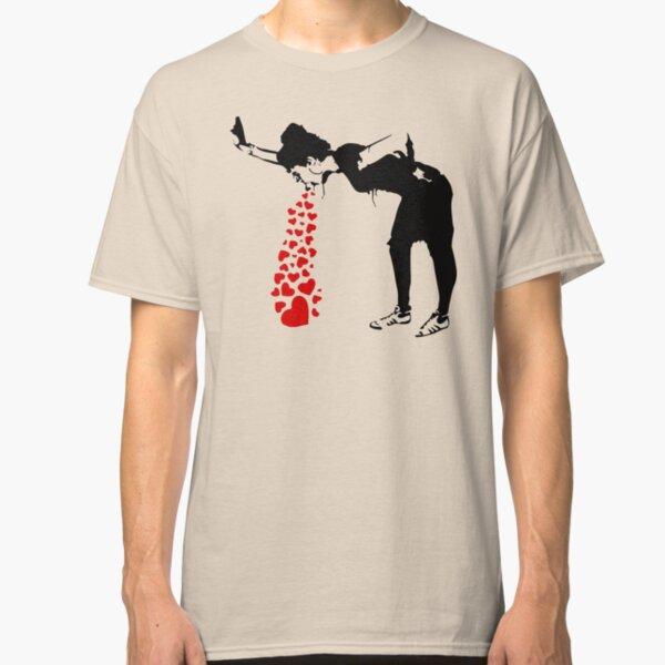 Lovesick - Banksy, Streetart Street Art, Grafitti, Artwork, Design For Men, Women, Kids Classic T-Shirt