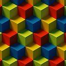 Isometric 3D Cubes by BigAl3D