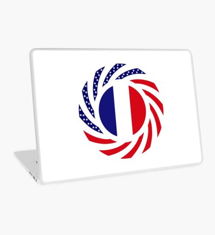 French American Multinational Patriot Flag Series Laptop Skin