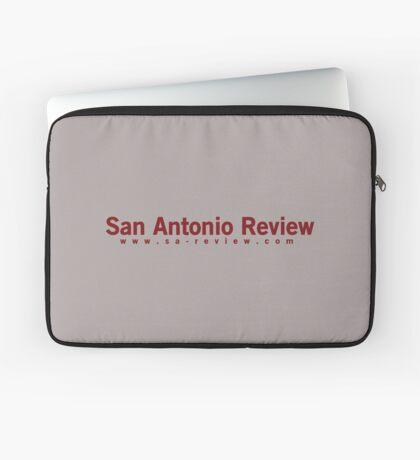 San Antonio Review with URL Laptop Sleeve