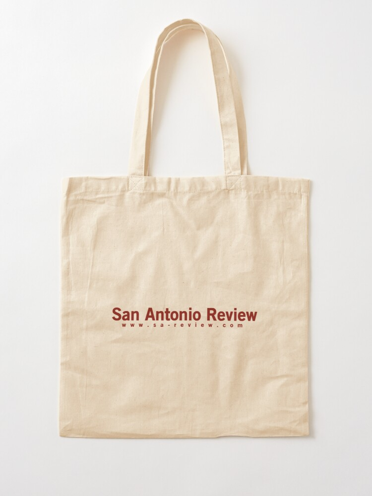 Alternate view of San Antonio Review with URL Tote Bag