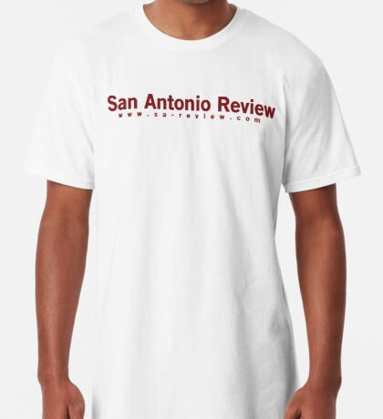 San Antonio Review with URL Long T-Shirt