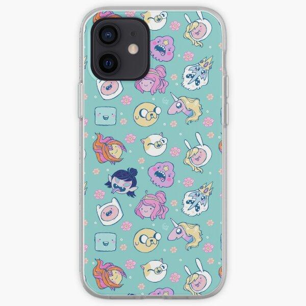 Adventure Time Friends 1 iPhone Soft Case