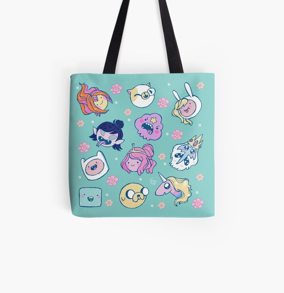 Adventure Time Friends 1 All Over Print Tote Bag