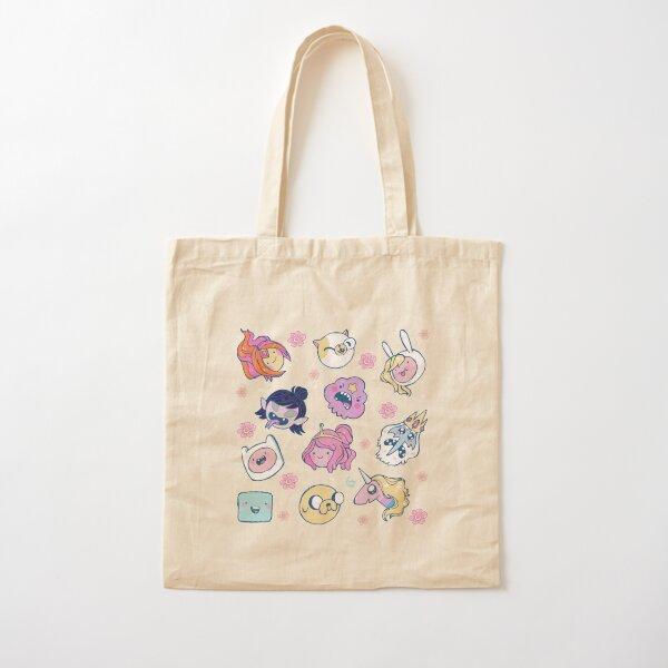 Adventure Time Friends 1 Cotton Tote Bag