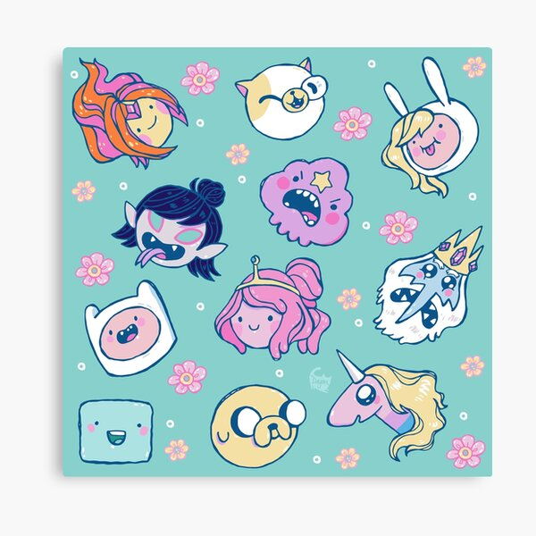 Adventure Time Friends 1 Canvas Print