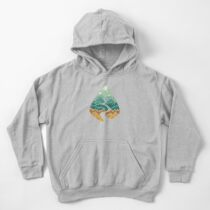 The Road Goes Ever On: Autumn Kids Pullover Hoodie